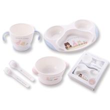 【プレゼント】はじめての離乳食に「ジェラートピケ 食器セット」!子育てグッズを人気ブランドで!