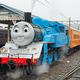 日本初登場!リアル機関車トーマスが大井川鐵道を走る!