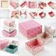 ふた付き、ハート付き、六角形!簡単な箱の折り方|折り紙動画