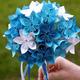 意外と簡単!花の折り方《シンプル・立体的・花の装飾》|折り紙動画