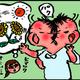 【子育て絵日記4コママンガ】つるちゃんの里帰り|(31)生きるチカラ