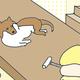 【コメタパン育児絵日記(26)】2歳児パンちゃんVS愛犬ヤマト