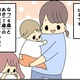 【育児4コマ漫画】今日も1日やっとこさ(1)|どんな2人になるのか