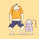 【イラスト日記】おもちの世界(2)|パパっ子おもち