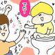 【コメタパン育児絵日記(42)】2歳児のトイレ中に私がしてることとは・・