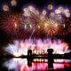 多摩川河川敷の調布市花火大会!最大級のナイアガラを観覧しよう!