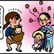 【子育て絵日記4コママンガ】つるちゃんの里帰り|(120)産後のさんぽ