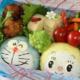 ドラえもんのおにぎり弁当レシピ3選|ドラミちゃんもいるよ!