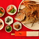 お食い初めのやり方|いつ?意味や料理の順番は?石や食器等準備品も解説