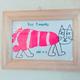 手形・足形アートの作り方 子どもの手形・足形を動物に変身!