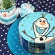 オラフのキャラケーキ3選~アナ雪ファンの子どもも大喜び!