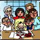 【子育て絵日記4コママンガ】つるちゃんの里帰り|(130)お食い初め