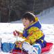 旭高原元気村へ子どもと冬キャンプ&雪そりをしに行こう!|愛知県