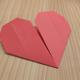 折り紙「ハート」の折り方動画|難易度:初級