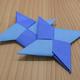 折り紙「手裏剣」の折り方動画 難易度:初級