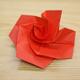 折り紙「バラ」の折り方動画|難易度:初級
