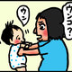 【子育て絵日記4コママンガ】つるちゃんの里帰り|(134)一度しか答えない男