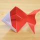 折り紙「金魚」の折り方動画|難易度:初級