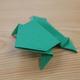 折り紙「ぴょんぴょんカエル」の折り方動画|難易度:中級
