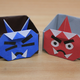 折り紙「鬼の豆入れ」の折り方動画【節分】|難易度:初級
