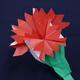 折り紙「カーネーション」の折り方動画|難易度:中級