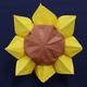 折り紙「ひまわり」の折り方動画|難易度:上級