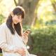妊娠中はカップ付きマタニティキャミソールが便利!1枚で快適!産後の授乳にも!