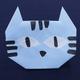 折り紙「ねこ」の折り方動画|難易度:初級