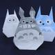 折り紙「トトロ」「中トトロ」「小トトロ」の折り方動画【ジブリ】|難易度:初級