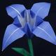 折り紙「あやめ」の折り方動画|難易度:初級