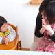 生後9ヶ月の離乳食レシピ|進め方やおすすめ食材、手づかみ食べも
