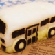 キャラ弁「幼稚園バスおにぎりの作り方 」|動画&レシピ