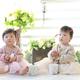 二人目が双子!二卵性女の子双子の出産【出産体験談:双子】