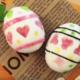 キャラ弁「殻をむいたゆで卵のイースターエッグ」|動画&レシピ