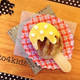 キャラ弁「アイス風ハンバーグの作り方」|動画&レシピ