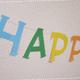 記念日のお祝いに!「文字ガーランド」の作り方