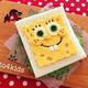 キャラ弁「スポンジボブサンドイッチの作り方」|動画&レシピ