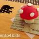 キャラ弁の作り方「トマトを使った小さなキノコ」|動画&レシピ