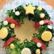キャラ弁「小さなブロッコリーのクリスマスリースの作り方」|動画&レシピ