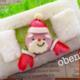 キャラ弁「サンタさんのオープンサンドイッチの作り方」|動画&レシピ