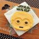 「チーズを使ったツムツムC-3POの作り方」|動画&レシピ