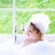 赤ちゃんがお風呂で寝た場合の水分補給は?|専門家の見解