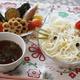 冷たい麺のアレンジレシピ|キティちゃん&トトロの人気キャラも