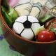 サッカーボール柄のキャラ弁レシピ3選|W杯がんばれ日本代表!
