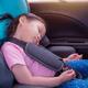 ドライブ中の「首カックン」を解決!チャイルドシートに付けるサポートグッズ!