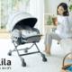 赤ちゃんの寝かしつけにはコレ!コンビのベビーラック「ネムリラ」最新モデル!