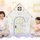 【punny】デザイン性がある「ダンボールハウス」と「みつろうクレヨン」を発売☆
