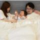 家族が川の字で寝る掛け布団 papakoso「つながる布団」一般販売開始