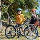 梱包用プラスチックごみを 40%削減した子ども自転車発売!
