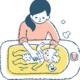 赤ちゃんの「お風呂」で困ったら|生後3ヶ月までのサバイバルガイド